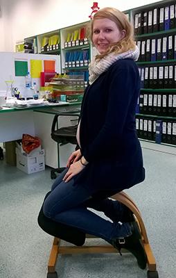 Těhotenství a zdravé sezení